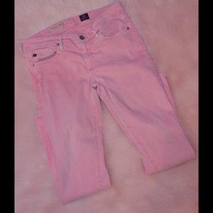 Sale 💰 Stevie ankle pink jeans Adriano goldschmei